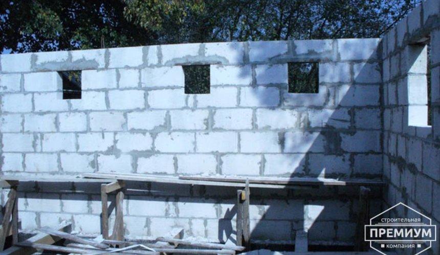 Проектирование и строительство дома из блоков в коттеджном посёлке Брусника 51