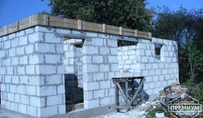 Проектирование и строительство дома из блоков в коттеджном посёлке Брусника 50