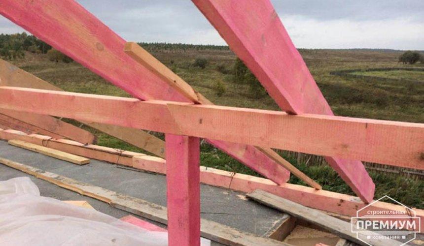 Строительство дома из блоков в коттеджном посёлке Алые паруса 60