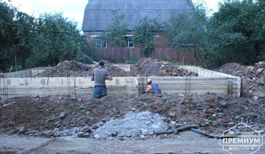 Проектирование и строительство дома из блоков в коттеджном посёлке Брусника 8