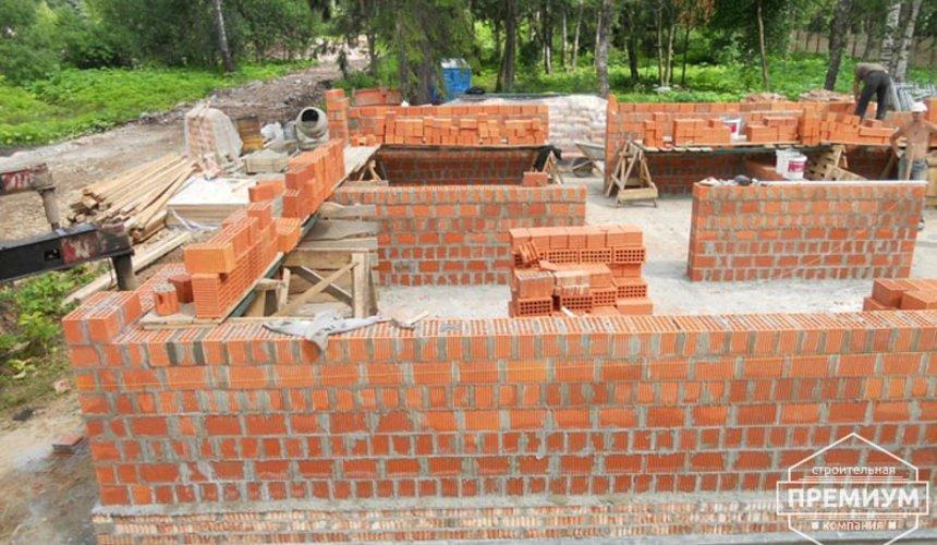 Строительство дома из кирпича в п.Сысерть 11