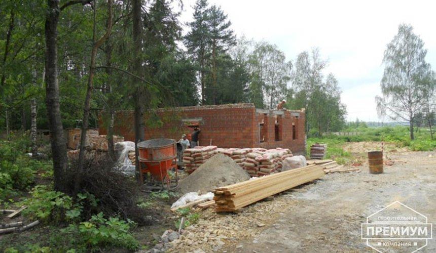 Строительство дома из кирпича в п.Сысерть 15