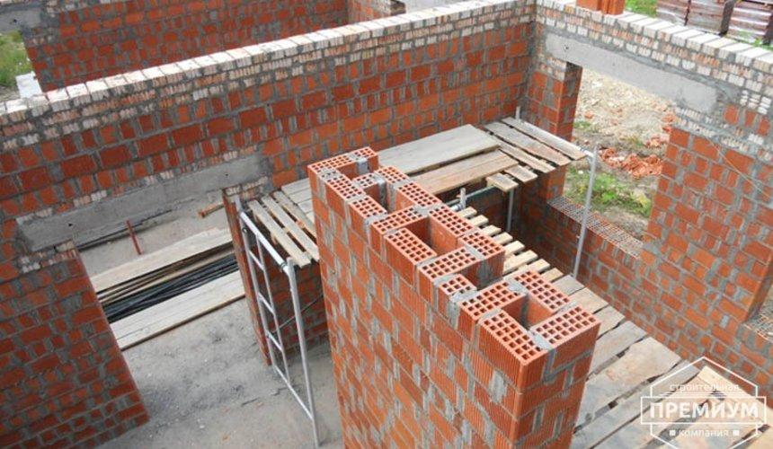 Строительство дома из кирпича в п.Сысерть 16