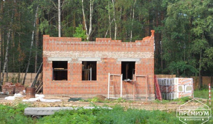 Строительство дома из кирпича в п.Сысерть 18
