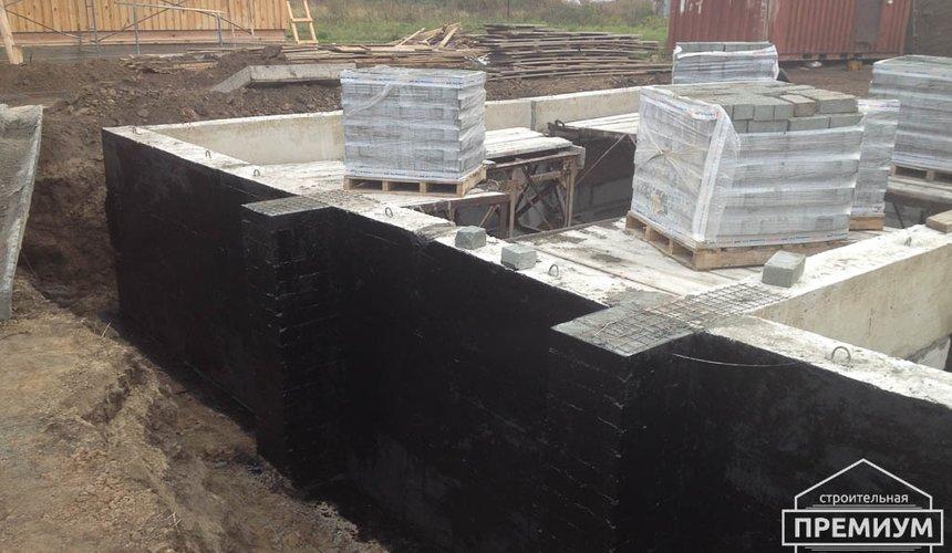 Строительство дома из блоков в с.Курганово 30