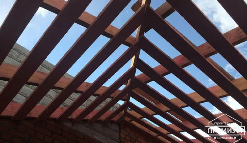 Строительство дома из блоков в коттеджном посёлке Алые паруса 62