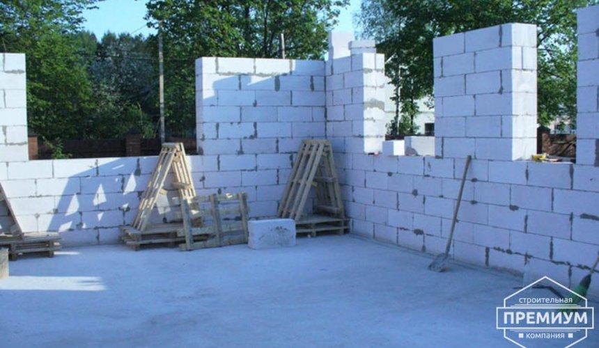 Проектирование и строительство дома из блоков в коттеджном посёлке Брусника 55
