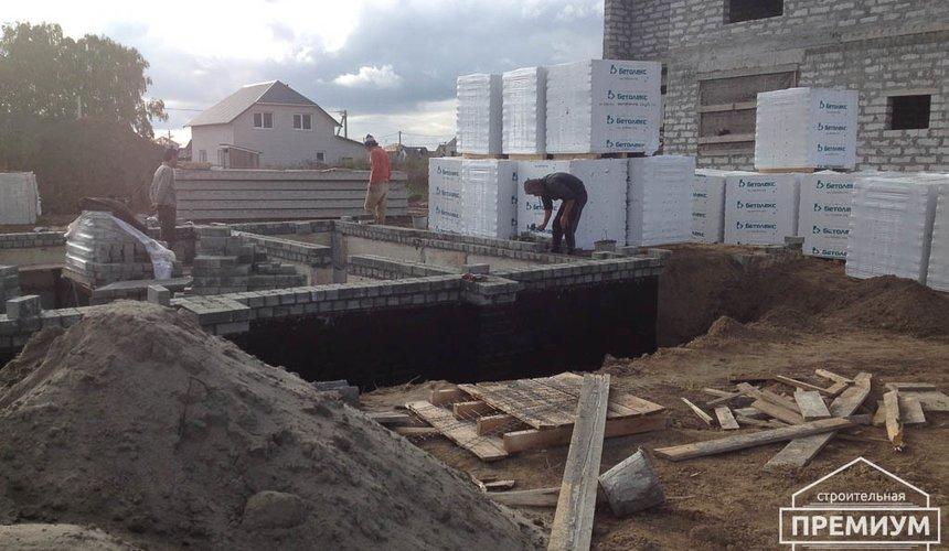 Строительство дома из блоков в с.Курганово 31
