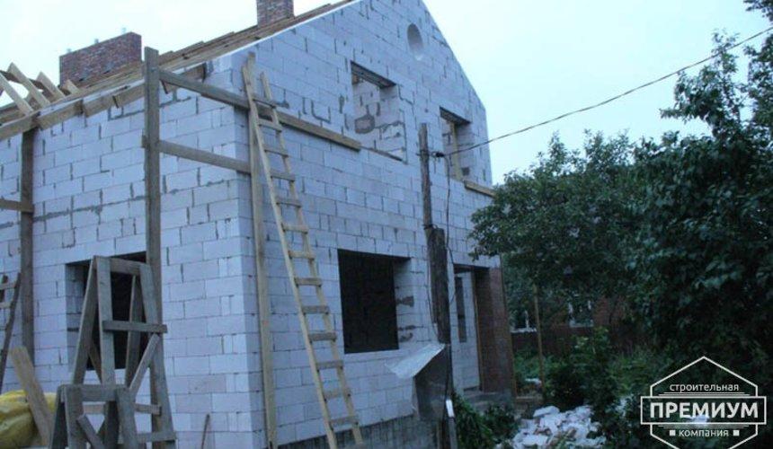 Проектирование и строительство дома из блоков в коттеджном посёлке Брусника 57