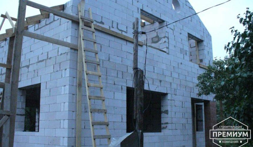 Проектирование и строительство дома из блоков в коттеджном посёлке Брусника 58