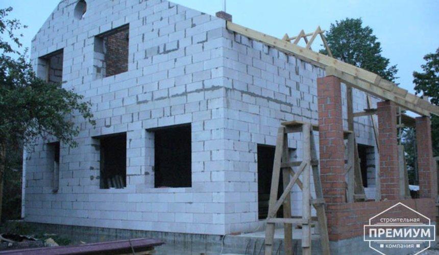 Проектирование и строительство дома из блоков в коттеджном посёлке Брусника 59