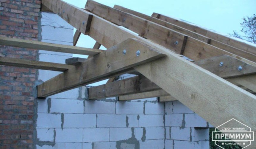 Проектирование и строительство дома из блоков в коттеджном посёлке Брусника 61