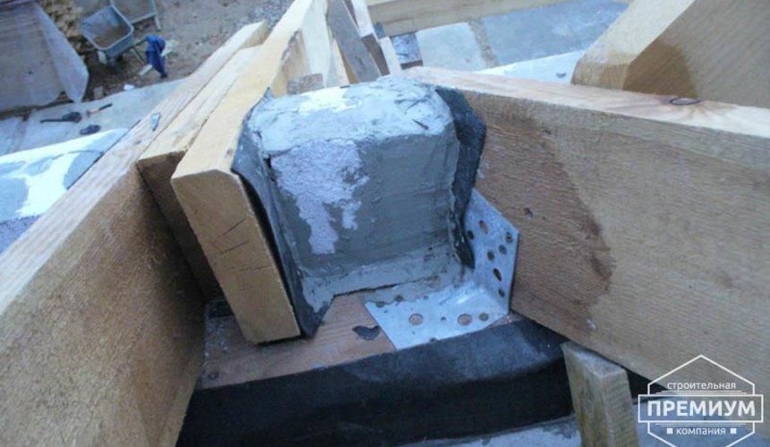 Проектирование и строительство дома из блоков в коттеджном посёлке Брусника 62