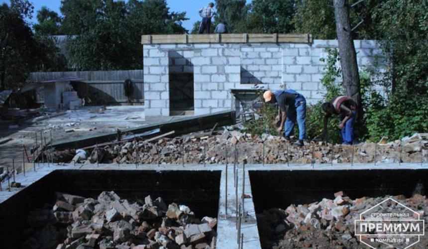 Проектирование и строительство дома из блоков в коттеджном посёлке Брусника 9