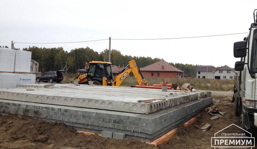 Строительство дома из блоков в с.Курганово 37