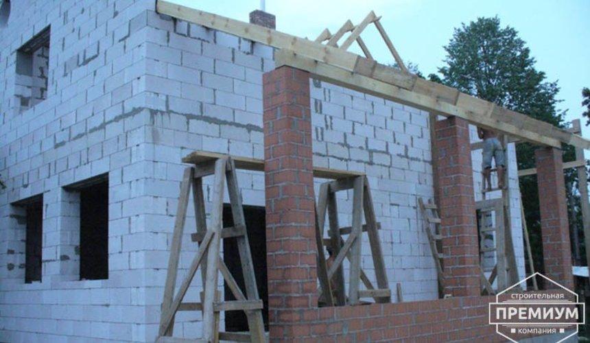 Проектирование и строительство дома из блоков в коттеджном посёлке Брусника 66