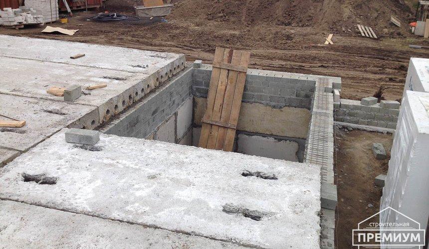 Строительство дома из блоков в с.Курганово 39