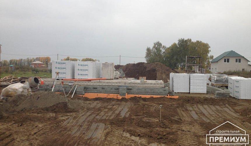 Строительство дома из блоков в с.Курганово 40