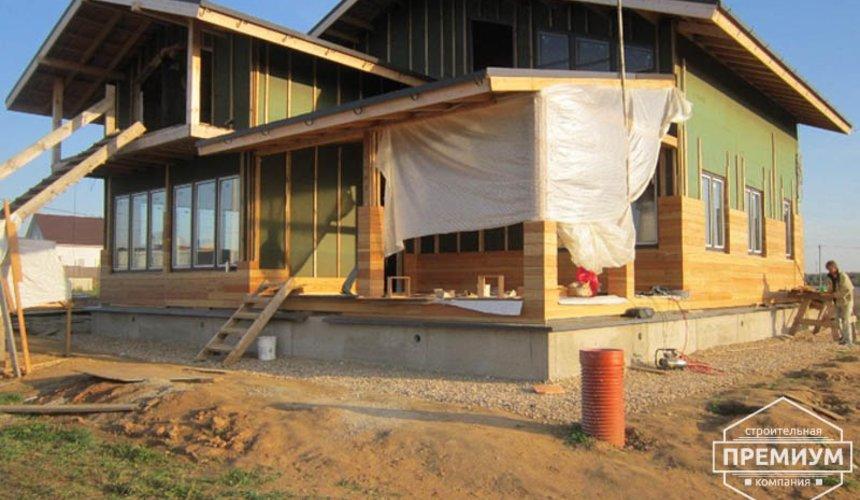 Строительство каркасного дома в коттеджном посёлке Александрия 2