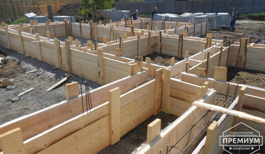 Строительство дома из блоков в коттеджном посёлке Алые паруса 10