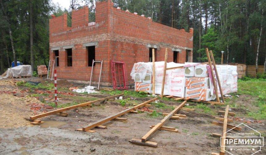 Строительство дома из кирпича в п.Сысерть 33