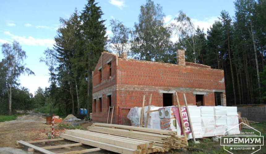 Строительство дома из кирпича в п.Сысерть 34