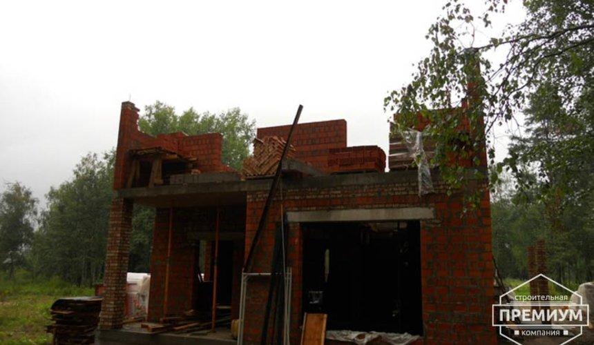 Строительство дома из кирпича в п.Сысерть 35
