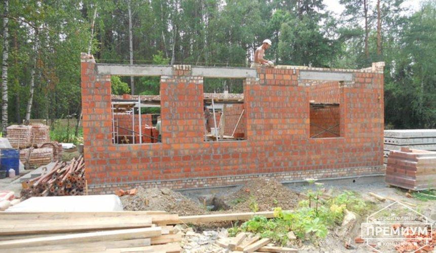 Строительство дома из кирпича в п.Сысерть 41