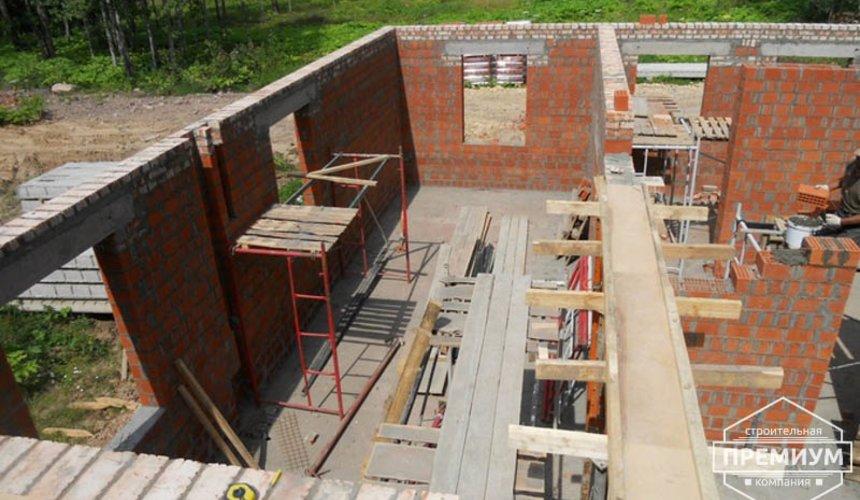 Строительство дома из кирпича в п.Сысерть 43