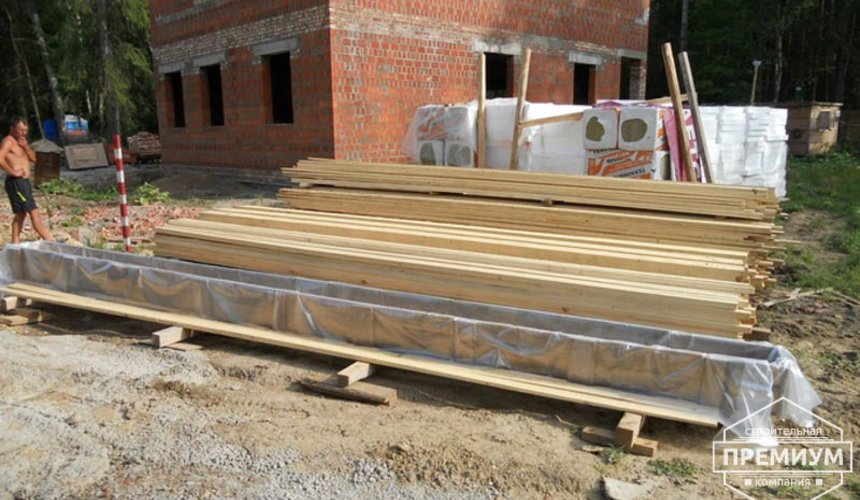 Строительство дома из кирпича в п.Сысерть 44