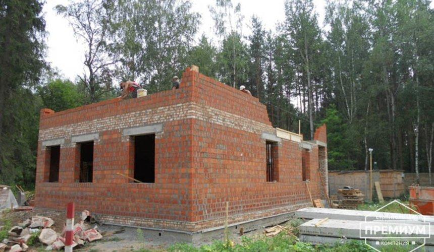 Строительство дома из кирпича в п.Сысерть 47