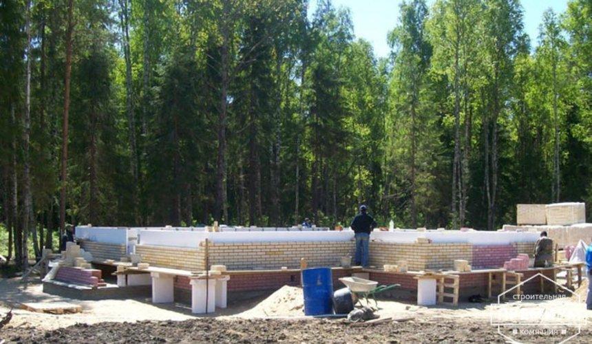Проектирование и строительство дома из блоков в Сысерти 12