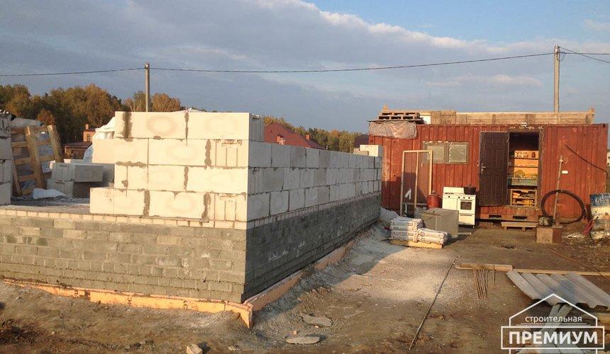 Строительство дома из блоков в с.Курганово 42