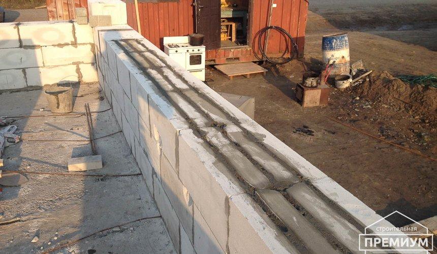 Строительство дома из блоков в с.Курганово 43