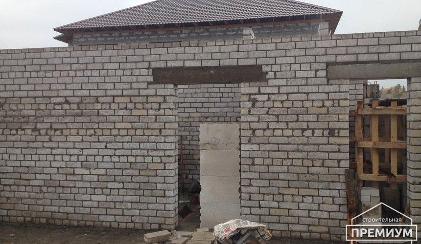 Строительство дома из блоков в с.Курганово 47