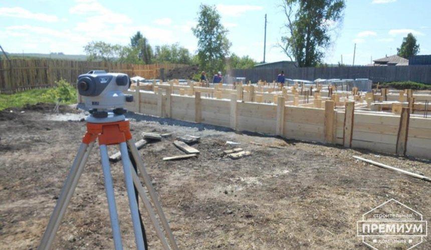 Строительство дома из блоков в коттеджном посёлке Алые паруса 11