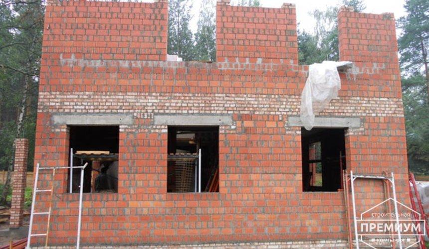 Строительство дома из кирпича в п.Сысерть 49