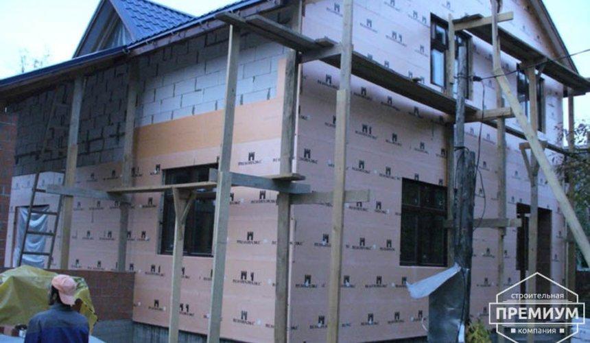 Проектирование и строительство дома из блоков в коттеджном посёлке Брусника 88