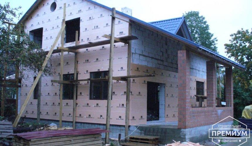 Проектирование и строительство дома из блоков в коттеджном посёлке Брусника 89