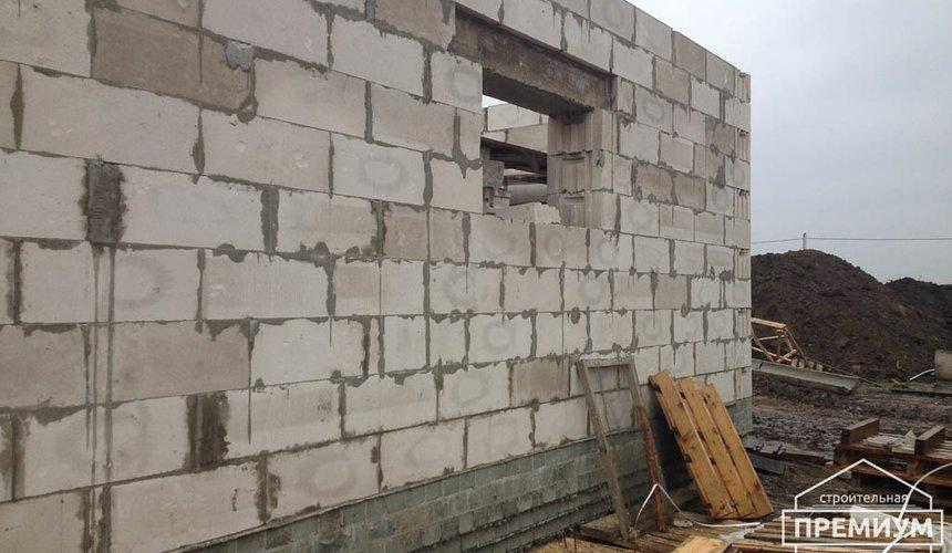 Строительство дома из блоков в с.Курганово 50