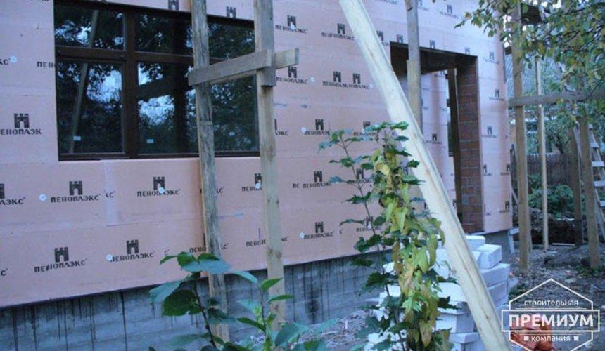 Проектирование и строительство дома из блоков в коттеджном посёлке Брусника 90