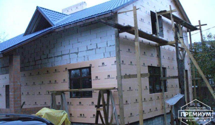 Проектирование и строительство дома из блоков в коттеджном посёлке Брусника 92