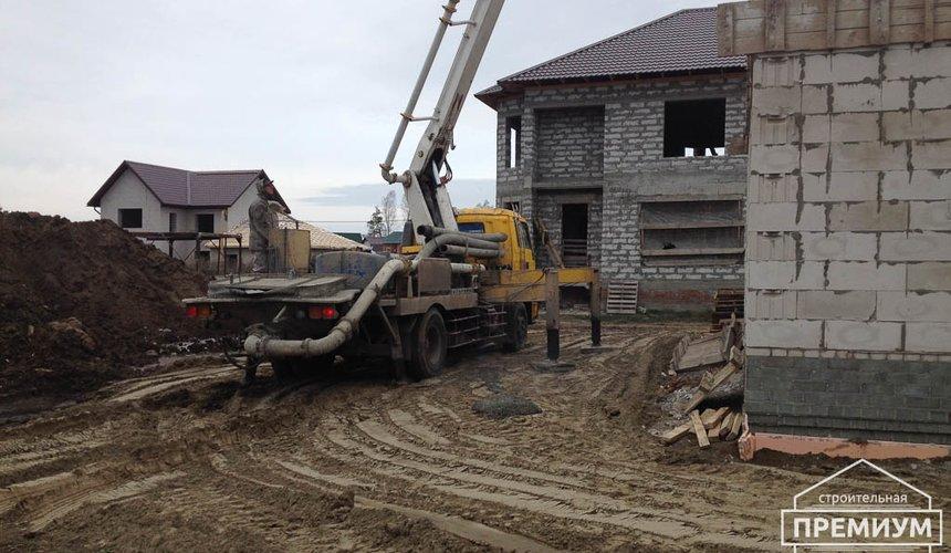 Строительство дома из блоков в с.Курганово 52