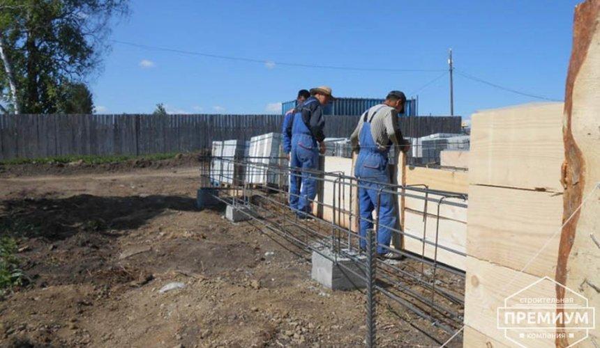 Строительство дома из блоков в коттеджном посёлке Алые паруса 12