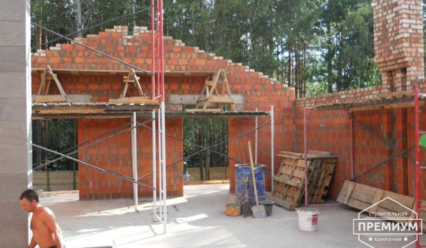 Строительство дома из кирпича в п.Сысерть 53