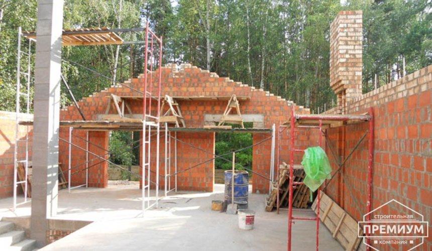 Строительство дома из кирпича в п.Сысерть 56