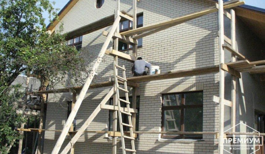 Проектирование и строительство дома из блоков в коттеджном посёлке Брусника 2