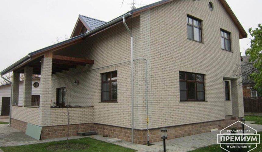 Проектирование и строительство дома из блоков в коттеджном посёлке Брусника 4