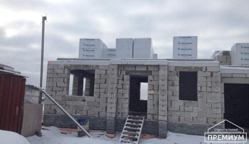 Строительство дома из блоков в с.Курганово 56