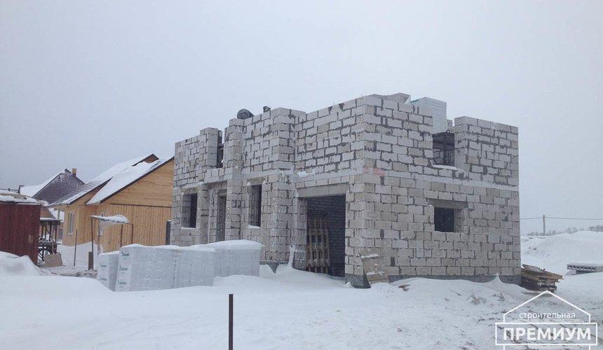Строительство дома из блоков в с.Курганово 64